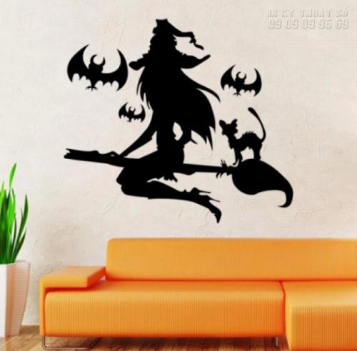 In decal trang trí Halloween giá rẻ TPHCM 2
