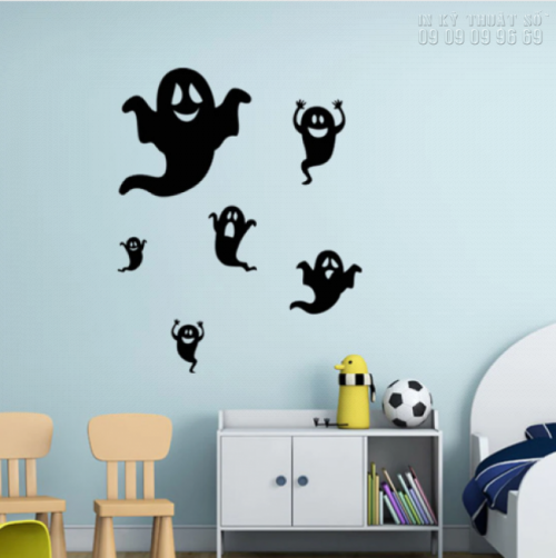 In decal trang trí Halloween giá rẻ TPHCM 3