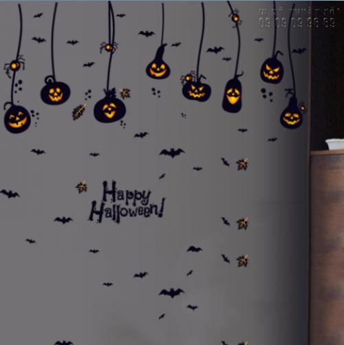 In decal trang trí Halloween đơn giản - In decal trang trí mọi số lượng, 1362, Thanh Thúy, InKyThuatso.com, 29/09/2018 15:45:57