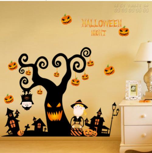 In decal trang trí Halloween tại nhà - Nhận in decal trang trí lẻ, 1364, Thanh Thúy, InKyThuatso.com, 29/09/2018 15:44:25