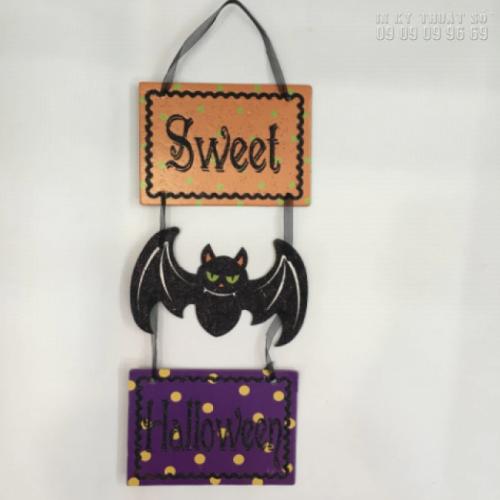 In format HCM làm mô hình Halloween: hình đầu lâu, con ma, bí ngô, dơi, phù thủy, xác ướp, nhện 1