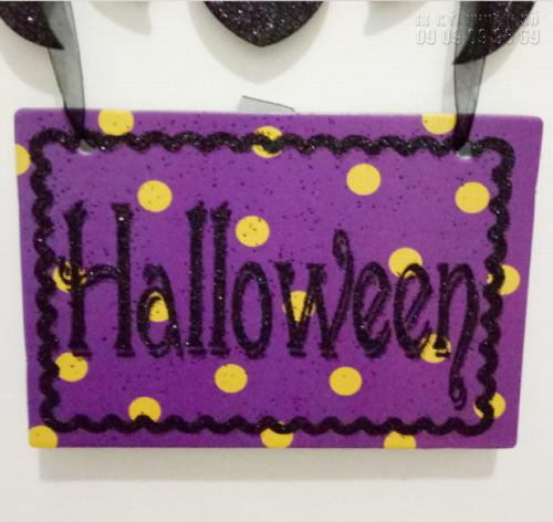 In PP cán format giá rẻ TPHCM - Bảng chữ Halloween 2
