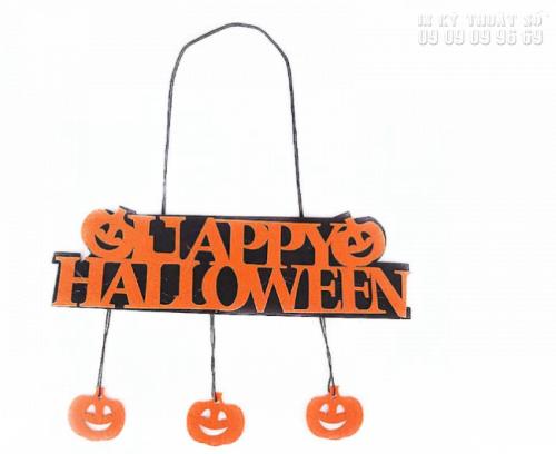 In PP cán format giá rẻ TPHCM - Bảng chữ Halloween 4