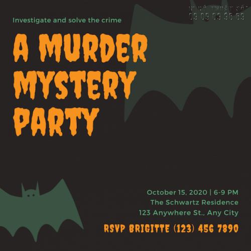 Giá in thiệp mời sự kiện Halloween Party 1