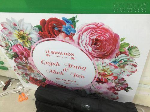 Giá in bảng tên cô dâu chú rể TPHCM, 1382, Thanh Thúy, InKyThuatso.com, 31/10/2018 14:09:09