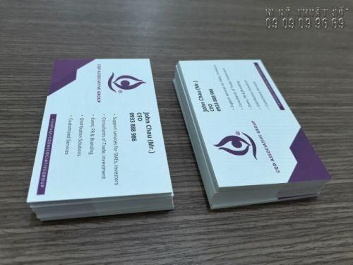 In card visit lấy ngay - In nhanh, giá rẻ tại TPHCM