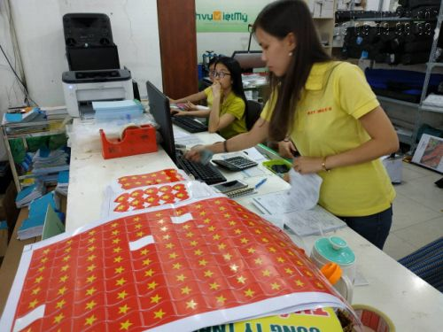 Nhân viên kế toán bán hàng tại In Kỹ Thuật Số