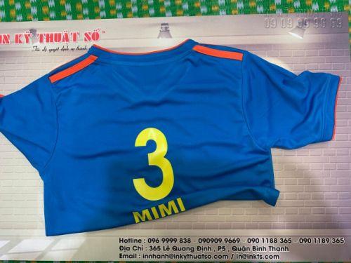 In áo bóng đá giá rẻ - In Kỹ Thuật Số