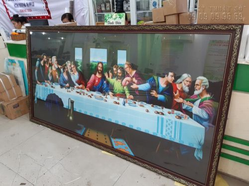 In tranh Bữa tiệc ly - The Last Supper (Leonardo da Vinci)