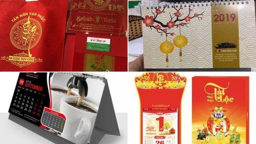 Thiết kế lịch Tết độc quyền 2020, thiết kế và in ấn lịch Tết tại TPHCM