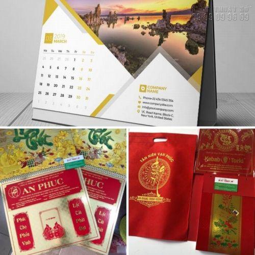 In lịch Tết doanh nghiệp - Món quà ý nghĩa dành khách hàng, đối tác
