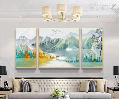 Xưởng in tranh canvas phong cảnh