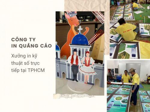Công ty in quảng cáo giá rẻ - Xưởng in kỹ thuật số trực tiếp tại TPHCM