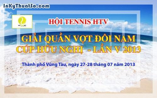 Băng rôn thể thao bằng chất liệu Hiflex cho Hội Tennis HTV, 438, Minh Trần, InKyThuatso.com, 09/08/2014 11:19:31