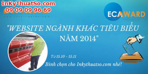 Bình chọn ECAWARD 2014 cho Inkythuatso.com, 666, Huyen Nguyen, InKyThuatso.com, 21/10/2014 17:00:00