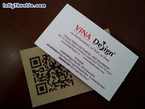 Card visit cafe kết hợp mã QR code, 569, Huyen Nguyen, InKyThuatso.com, 10/03/2016 11:13:09