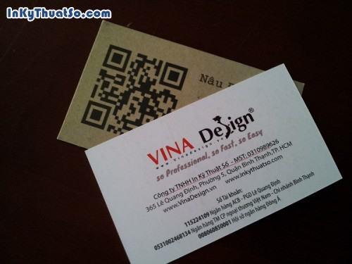 Danh thiếp cafe in mã Qr code giới thiệu website cửa hàng, 576, Huyen Nguyen, InKyThuatso.com, 14/05/2014 18:14:57