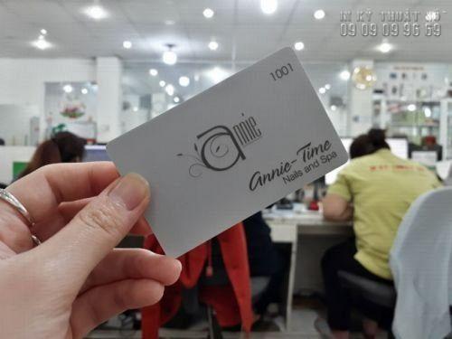 Dịch vụ in thẻ nhựa lẻ TPHCM - In thẻ nhựa số lượng ít giá rẻ