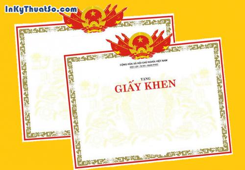 Giấy khen, in ấn giấy khen và đôi điều bạn cần biết, 517, Huyen Nguyen, InKyThuatso.com, 25/07/2014 14:41:27