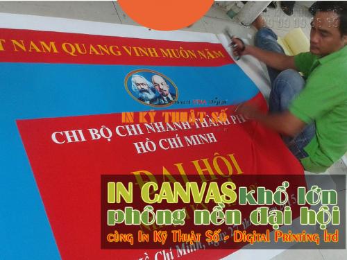 In canvas khổ lớn làm phông nền cho kỳ đại hội chi bộ chi nhánh Tp.HCM, 740, Huyen Nguyen, InKyThuatso.com, 19/06/2015 15:09:33