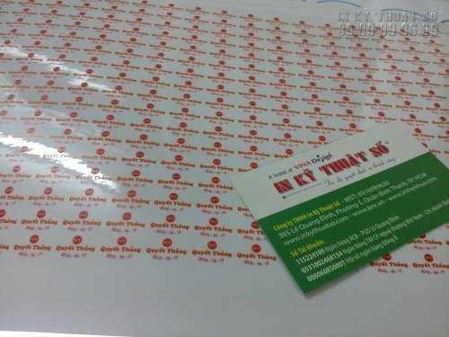 In nhãn Decal giá rẻ tại TPHCM - Các loại Decal phổ biến in nhãn sản phẩm