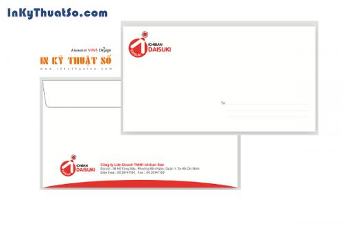 In ấn văn phòng - Bao thư cho doanh nghiệp hoàn thiện bộ nhận diện thương hiệu, 614, Huyen Nguyen, InKyThuatso.com, 01/09/2016 17:17:53