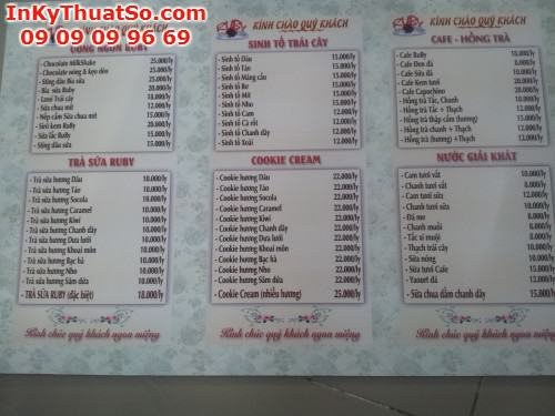 In Menu bằng bạt PP cán Formex cho quán Coffee, 431, Minh Trần, InKyThuatso.com, 03/01/2018 10:50:16