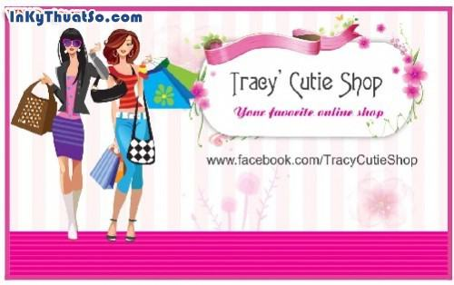 In namecard bằng giấy Coucher cao cấp cho Tracy' Cutie Shop, 441, Minh Trần, InKyThuatso.com, 09/08/2014 12:37:05