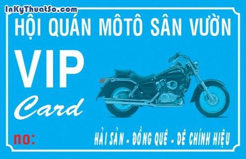 In Thẻ VIP bằng thẻ nhựa cao cấp cho Hội Quán MôTô Sân Vườn, 437, Minh Trần, InKyThuatso.com, 24/06/2017 14:57:23