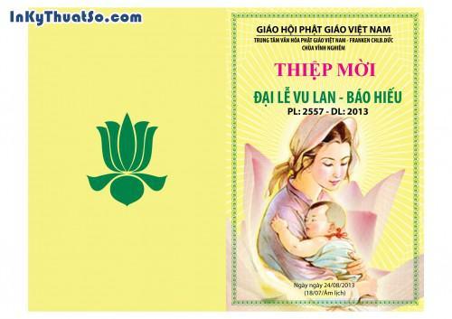 In Thiệp mời bằng giấy Couche cao cấp cho Chùa Vĩnh Nghiêm, 442, Minh Trần, InKyThuatso.com, 29/04/2014 11:42:16