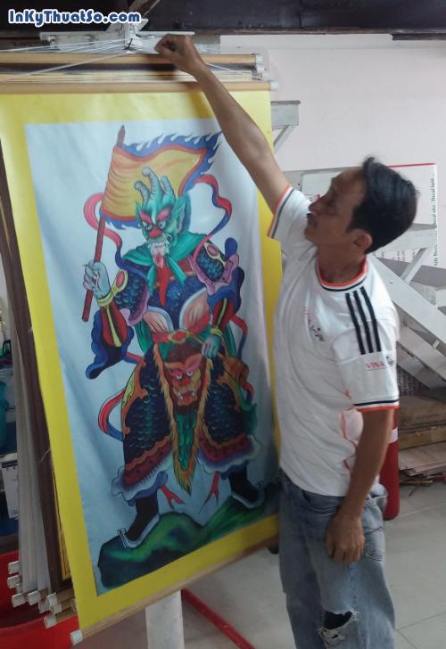 In tranh cúng dường treo trong chùa bằng vải bố canvas, 547, Huyen Nguyen, InKyThuatso.com, 12/06/2014 17:48:04