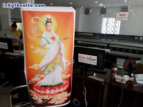In tranh khổ lớn hình Phật Bà Quán Âm từ chất liệu canvas dầu bóng, 602, Huyen Nguyen, InKyThuatso.com, 09/01/2015 17:14:47