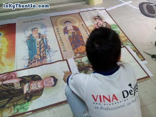 In tranh nghệ thuật tôn giáo bền đẹp với chất liệu silk tại Tp.HCM, 599, Huyen Nguyen, InKyThuatso.com, 09/01/2015 16:57:12