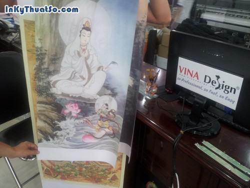 In tranh nghệ thuật tôn giáo cho trang trí nhà ở từ chất liệu silk, 601, Huyen Nguyen, InKyThuatso.com, 09/01/2015 16:57:26