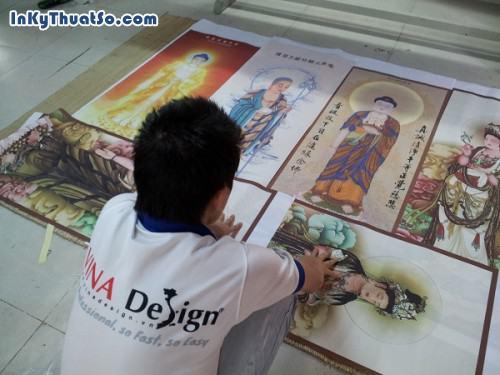 In tranh Phật giáo từ in tranh nghệ thuật chất liệu vải silk tại Tp.HCM, 605, Huyen Nguyen, InKyThuatso.com, 09/01/2015 16:57:36