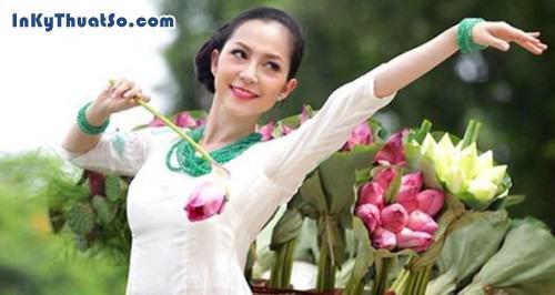 Linh Nga, nồng nàn với sen Việt, 309, Canhle, InKyThuatso.com, 15/03/2013 09:40:22