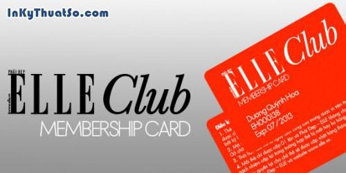 Membership card ELLE Club, 118, Hữu Tín, InKyThuatso.com, 29/03/2014 11:24:45