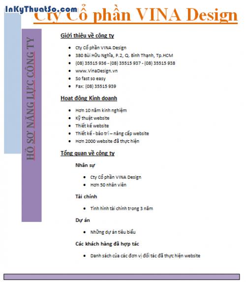 Thiết kế Hồ sơ năng lực bản mềm cho doanh nghiệp nhanh dễ dàng, 530, Huyen Nguyen, InKyThuatso.com, 18/03/2014 15:29:24