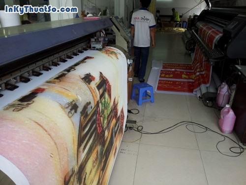 Tranh in Phố cổ Hà Nội từ in canvas mực dầu cho trang trí phòng khách từ in tranh treo tường khổ lớn, 607, Huyen Nguyen, InKyThuatso.com, 09/01/2015 17:14:14
