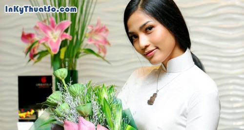 Trương Thị May, dịu dàng với áo dài, 308, Canhle, InKyThuatso.com, 14/03/2013 09:39:25