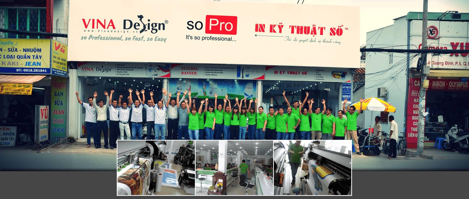 Công ty In Kỹ Thuật Số tại 365 Lê Quang Định, phường 5, Bình Thạnh, HCM