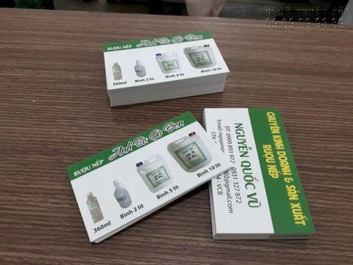 Giấy Ford là một trong những loại giấy phổ biến được sử dụng trong in ấn card visit