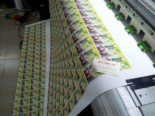 In tem nhãn mỹ phẩm giá rẻ bằng công nghệ in ấn hiện đại