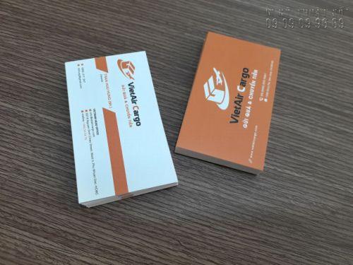 Cần xác định trước số lượng và kích thước của card visit trước khi đặt in ấn