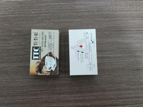 In name card giấy mỹ thuật cao cấp giá rẻ tại TPHCM