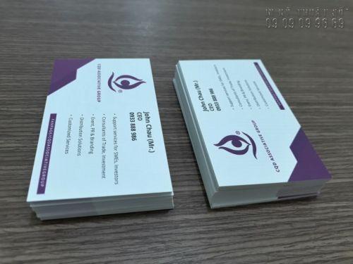 Cần chuẩn bị trước bản thiết kế card visit để tránh tốn thêm phí thiết kế
