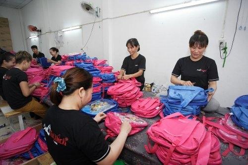 Phân phối sỉ balo túi xách từ xưởng