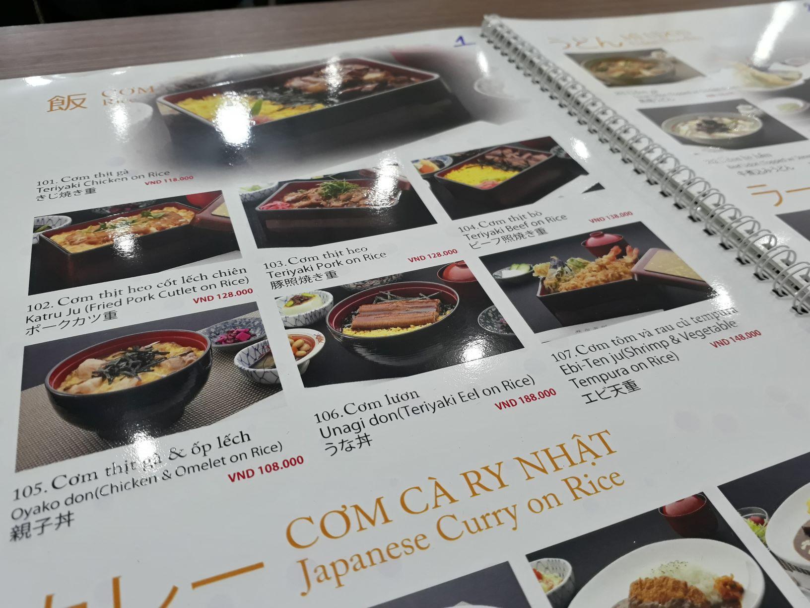 Thiết kế menu phải thật hấp dẫn để thu hút và tạo cảm hứng cho khách hàng
