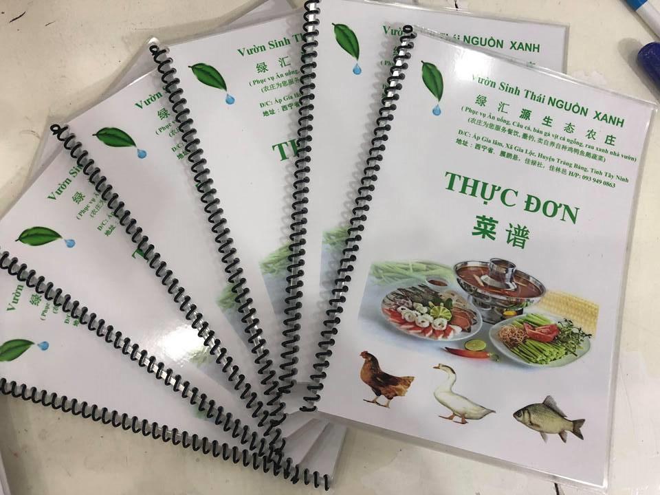 Các chất liệu thường sử dụng để in ấn menu nhà hàng 5 sao