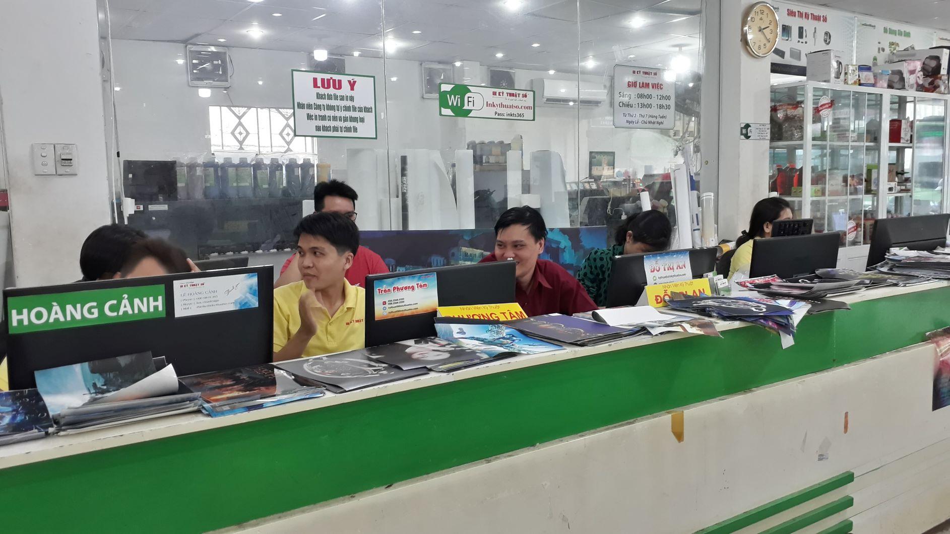 Công ty InKyThuatSo cung cấp dịch vụ in ảnh nhanh, chất lượng cao khổ lớn